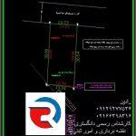 نقشه UTM دو خطی برای شهرداری منطقه 1 تهران